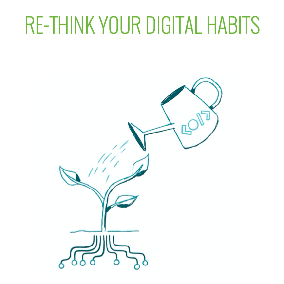 """Re-think your Digital Habits"" White Paper"